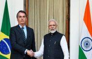 இந்தியா- பிரேசில் ஆகிய இருநாடுகளுக்கு இடையே முக்கிய ஒப்பந்தம்..!!