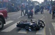 மட்டக்களப்பு நெடுஞ்சாலையில் இடம்பெற்ற விபத்து..!!