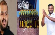 தமிழ் தேசியக் கூட்டமைப்பின் வேட்பாளர் சாராயம் கடத்தலில் சிக்கினார்.!!