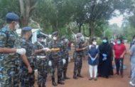 வவுனியாவில் தனிமைப்படுத்தப்பட்ட 152 பேர்விடுவிப்பு!