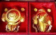 திருப்பதி ஏழுமலையானுக்கு 4 கிலோ தங்கத்தை காணிக்கை செலுத்திய தமிழர்..!!