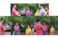 வாக்கிங் போன முதலமைச்சர் மு.க.ஸ்டாலினை  வழி மறித்தது பெண்கள் செய்த வேலையை பாருங்கள்